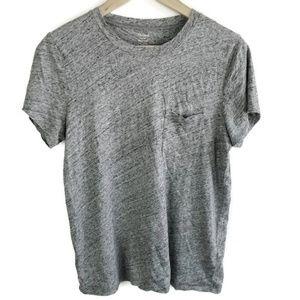 Madewell Crew Neck T-Shirt 100% Cotton Tee 1324